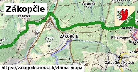 ikona Zimná mapa zimna-mapa  zakopcie