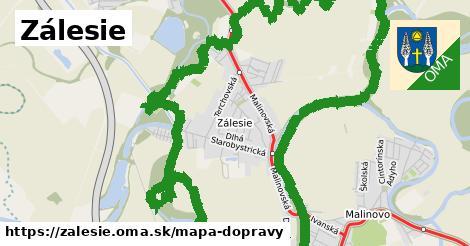 ikona Mapa dopravy mapa-dopravy  zalesie