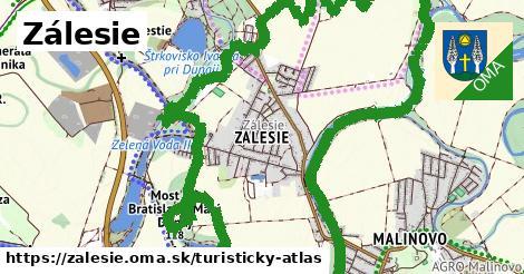 ikona Turistická mapa turisticky-atlas  zalesie