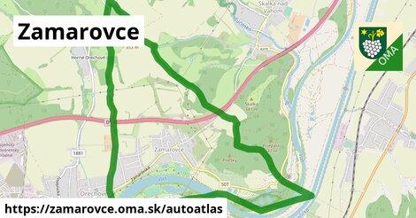 ikona Mapa autoatlas  zamarovce