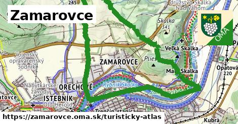 ikona Turistická mapa turisticky-atlas  zamarovce