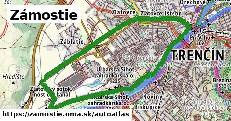 ikona Mapa autoatlas  zamostie