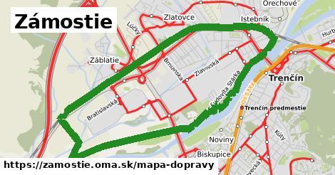 ikona Mapa dopravy mapa-dopravy  zamostie