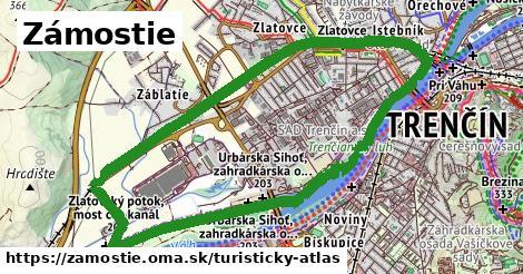 ikona Turistická mapa turisticky-atlas  zamostie