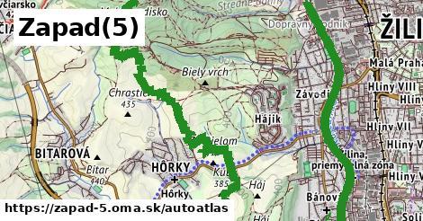 ikona Mapa autoatlas  zapad-5