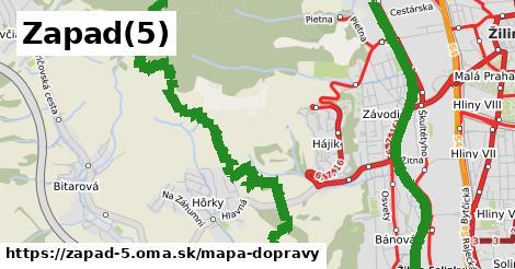 ikona Mapa dopravy mapa-dopravy  zapad-5
