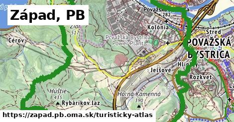 ikona Turistická mapa turisticky-atlas  zapad.pb