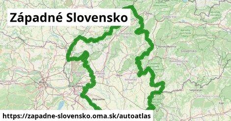 ikona Mapa autoatlas  zapadne-slovensko