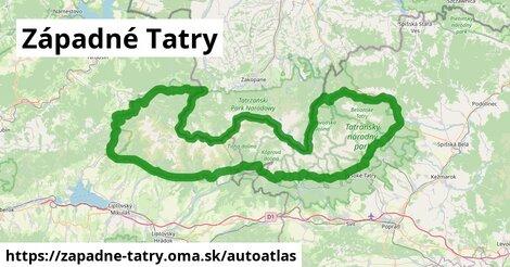 ikona Mapa autoatlas  zapadne-tatry