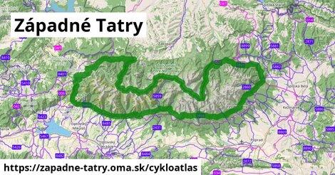 ikona Cykloatlas cykloatlas  zapadne-tatry
