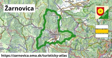 ikona Žarnovica: 2,1km trás turisticky-atlas v zarnovica