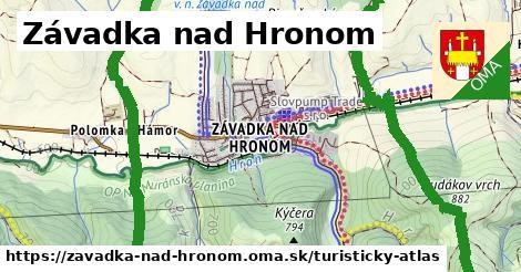 ikona Turistická mapa turisticky-atlas  zavadka-nad-hronom