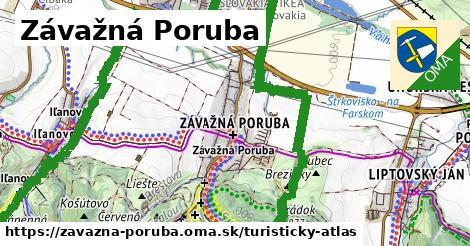 ikona Turistická mapa turisticky-atlas  zavazna-poruba