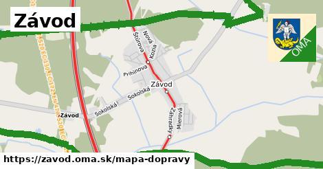 ikona Mapa dopravy mapa-dopravy  zavod