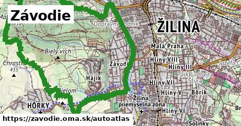 ikona Mapa autoatlas v zavodie