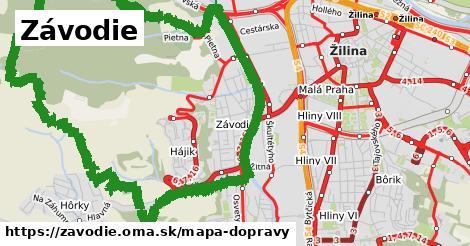 ikona Mapa dopravy mapa-dopravy v zavodie