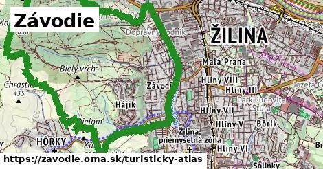 ikona Turistická mapa turisticky-atlas v zavodie