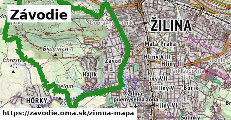 ikona Zimná mapa zimna-mapa v zavodie