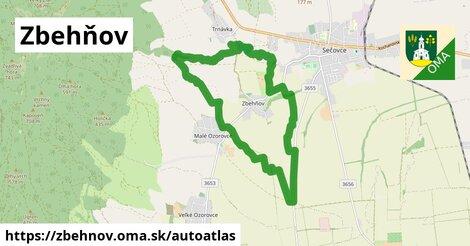 ikona Mapa autoatlas  zbehnov