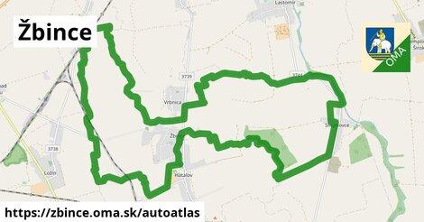 ikona Mapa autoatlas  zbince