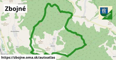 ikona Mapa autoatlas  zbojne