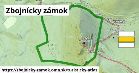 ikona Turistická mapa turisticky-atlas  zbojnicky-zamok