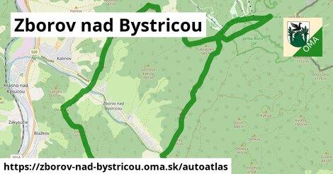ikona Mapa autoatlas  zborov-nad-bystricou