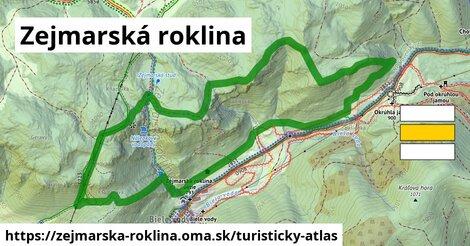 ikona Turistická mapa turisticky-atlas  zejmarska-roklina