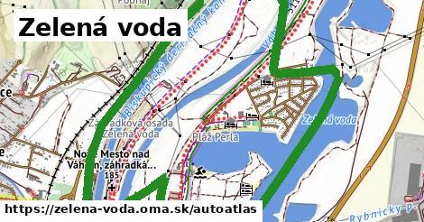 ikona Mapa autoatlas  zelena-voda