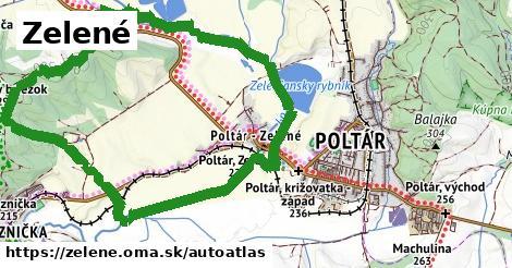 ikona Mapa autoatlas  zelene