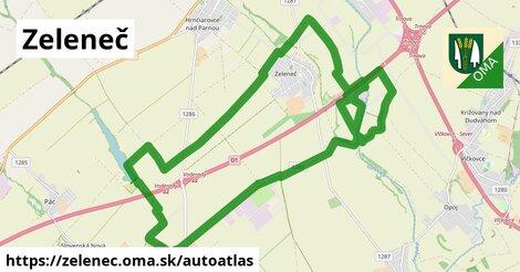 ikona Mapa autoatlas  zelenec