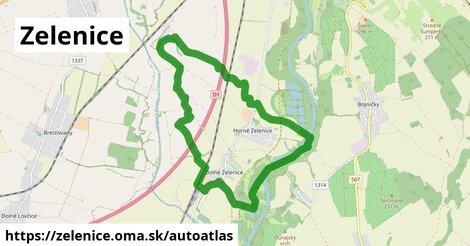 ikona Mapa autoatlas  zelenice