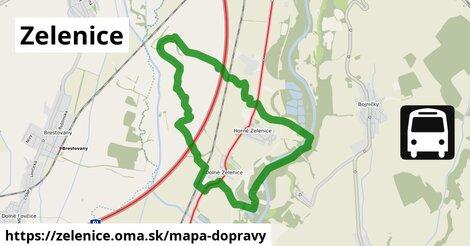 ikona Mapa dopravy mapa-dopravy  zelenice