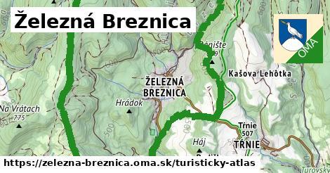 ikona Turistická mapa turisticky-atlas  zelezna-breznica