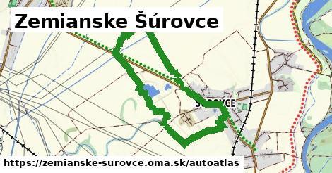 ikona Mapa autoatlas  zemianske-surovce