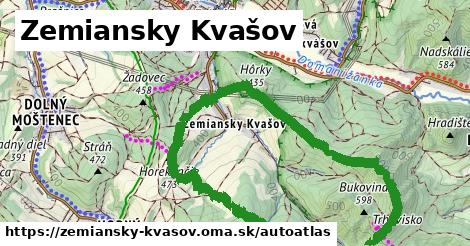 ikona Mapa autoatlas  zemiansky-kvasov
