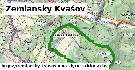 ikona Zemiansky Kvašov: 0m trás turisticky-atlas v zemiansky-kvasov