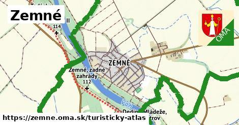 ikona Zemné: 2,0km trás turisticky-atlas  zemne