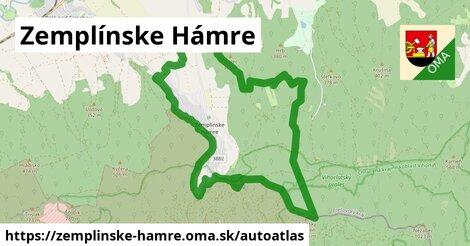 ikona Mapa autoatlas  zemplinske-hamre