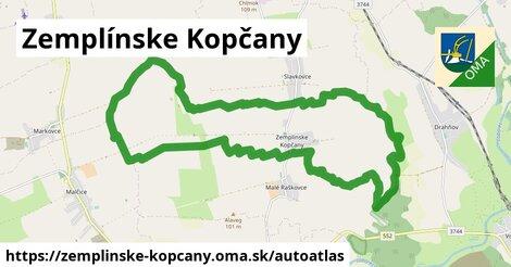 ikona Mapa autoatlas  zemplinske-kopcany