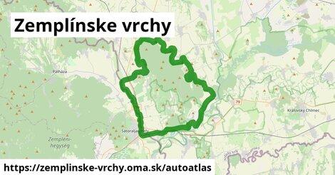 ikona Mapa autoatlas  zemplinske-vrchy