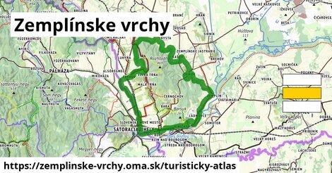 ikona Turistická mapa turisticky-atlas  zemplinske-vrchy