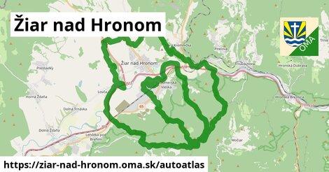 ikona Mapa autoatlas  ziar-nad-hronom