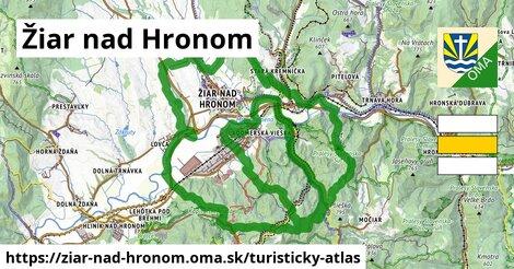 ikona Turistická mapa turisticky-atlas  ziar-nad-hronom