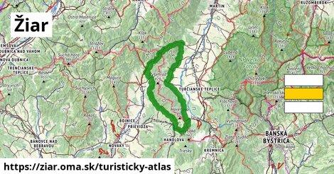 ikona Turistická mapa turisticky-atlas  ziar
