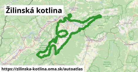ikona Mapa autoatlas  zilinska-kotlina