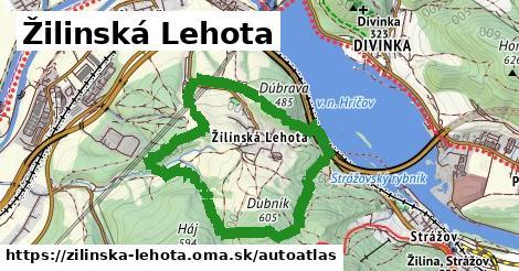 ikona Mapa autoatlas  zilinska-lehota