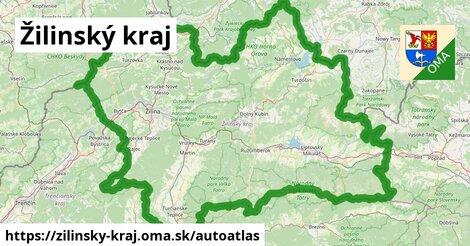 ikona Mapa autoatlas  zilinsky-kraj