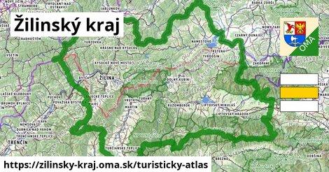 ikona Turistická mapa turisticky-atlas  zilinsky-kraj