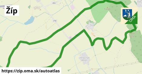 ikona Mapa autoatlas  zip